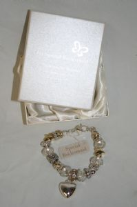 Silver Wedding Bracelets for the ladies in the wedding party